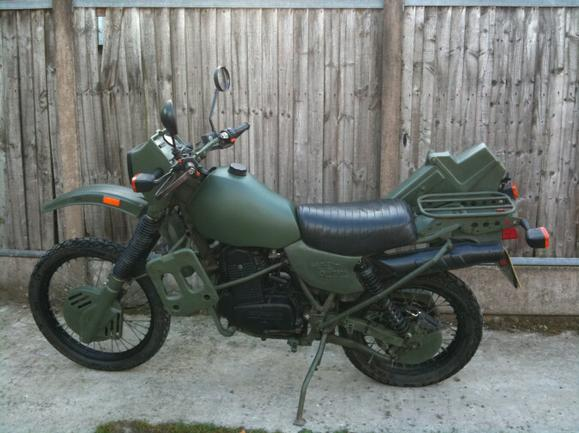 Harley Davidson Mt350 350 For Sale Rotax Ex Military