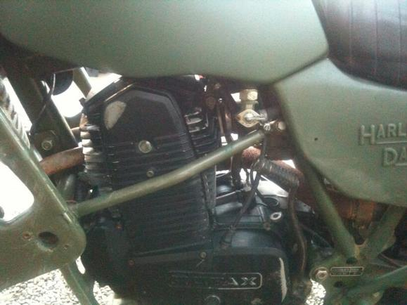 Harley Davidson MT350 for sale  Rotax 350 ex army  Taxed and