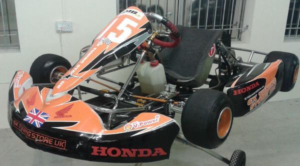 Tony Kart Chassis Racing Kart  (Honda GX200 Engine) - Vintage