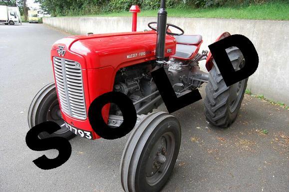 Massey Ferguson Model 35 : Massey ferguson diesel vintage motoring parts and